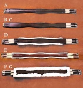 E - RF Fleece Lined Girth
