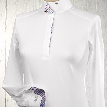 Essex Ladies Talent Long Sleeve Snap Show Shirt