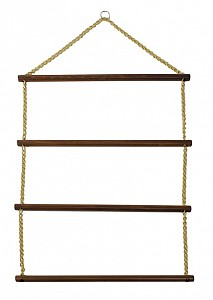 Wood Blanket Racks with Chain