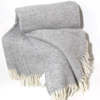 Klippan Stella Wool Throw Natural