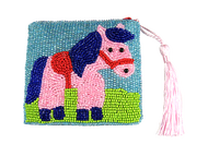 Beaded Coin Purse by Epona