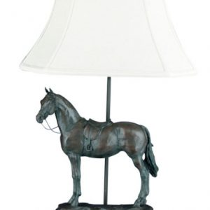 English Horse Lamp by OK Casting