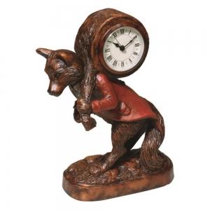 Fantastic Fox Desk Clock