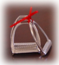 Stirrup Napkin Rings Set of 4