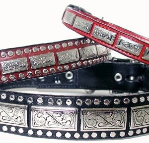 Woof Wear K9 Squares Dog Collar