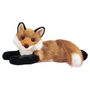 Roxy Stuffed Fox by Douglas Toys
