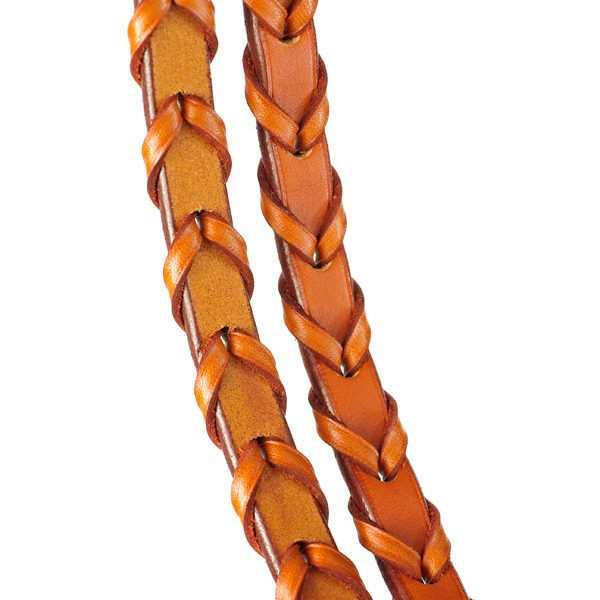"Edgewood 5/8"" Laced Reins"