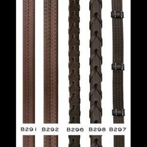 "Dyon 5/8"" Fancy Laced Reins"