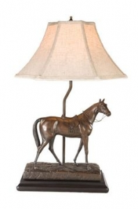 Thoroughbred Lamp by Oklahoma Casting