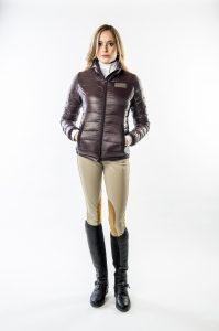 Women's Lenox Packable Down Jacket by Konia Equestrian