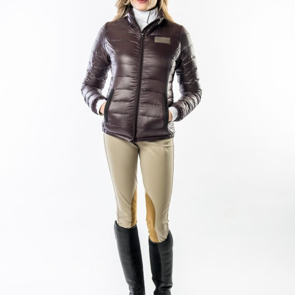 Women's Lenox Packable Down Jacket by Konia Equestrian