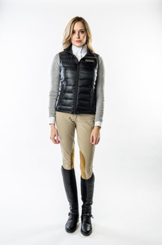 Women's Mika Lightweight Down Vest by Konia Equestrian