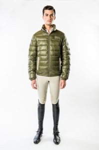 Men's Kenji Packlable Down Jacket by Konia Equestrian