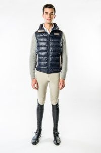 Men's Keene Light Weight Down Vest by Konia Equestrian
