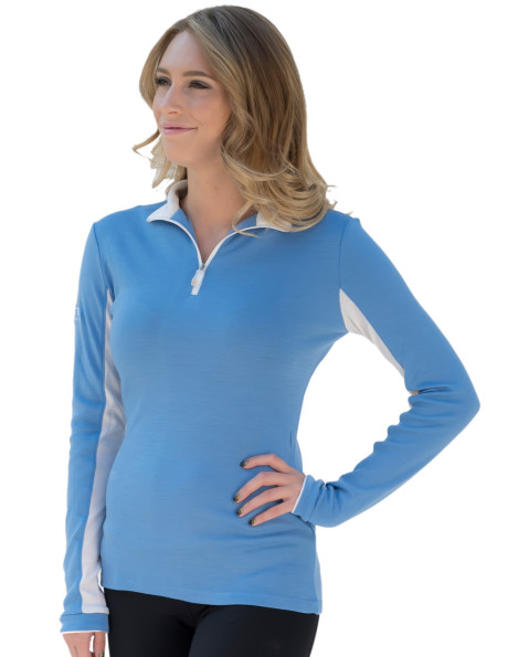 Kastel Ladies Merino Wool 1/4 Zip