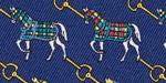 "Essex Ladies Talent Yarn Long Sleeve ""Horses"" Show Shirt"