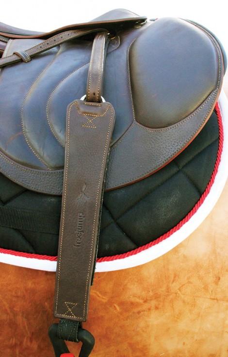 Freejump Pro Grip Single Strap Stirrup Leather
